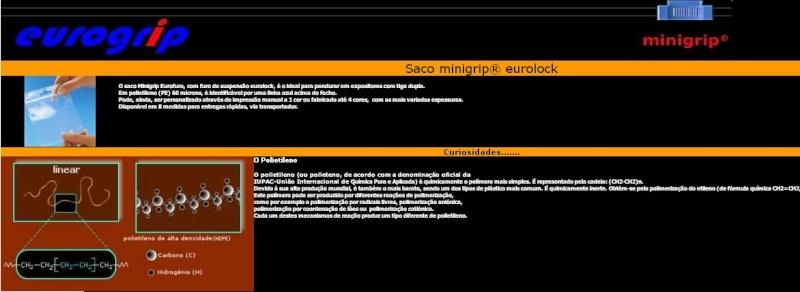"""Boletim de Agosto da Eurogrip, empresa líder no mercado nacional de embalagens plásticas """"refecháveis"""" Eurogr13"""