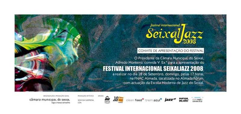 Apresentação do Festival Internacional Seixal Jazz 2008- Domingo, dia 28, 17 horas na FNAC Almada Image023