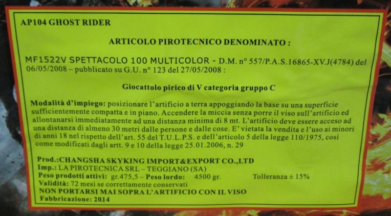 GHOST RIDER 100 C. 01210