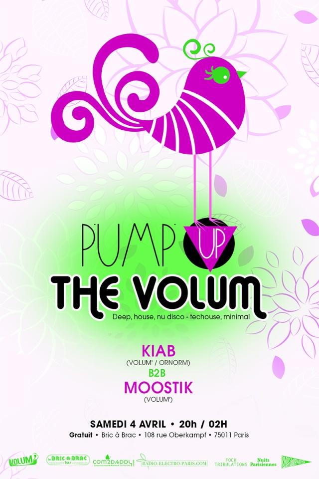 Pump Up The Volum': REPOUSSEE AU SAMEDI 4 AVRIL  - Bric à Br Pump_u14
