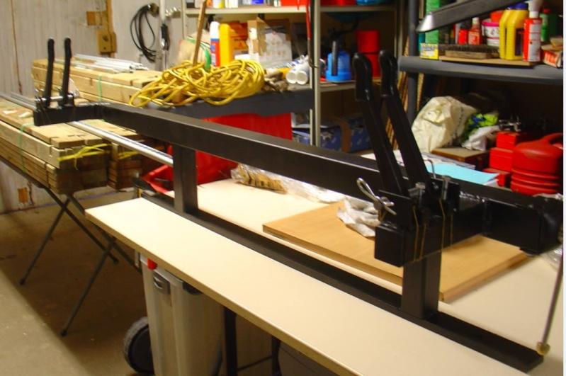 Fabrication d'une presse pour compound 11001410