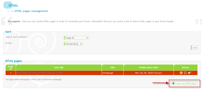 Create a loading page before accessing your forum ! 25012012