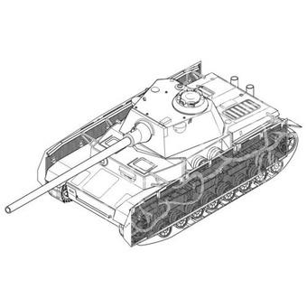 Tourelle schmalturm sur Panzer IV Cmk-se10