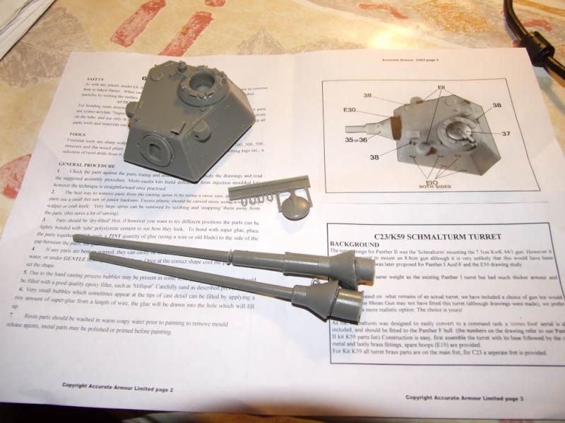 Tourelle schmalturm sur Panzer IV Dscf5010