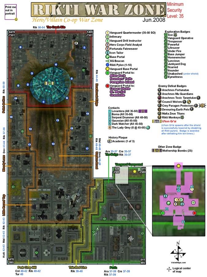 RIKTI WAR ZONE (Zona de Guerra Rikti) (35-50) Rikti_10