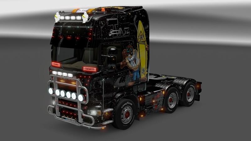 SKIN : Scania Taz Ets2_012