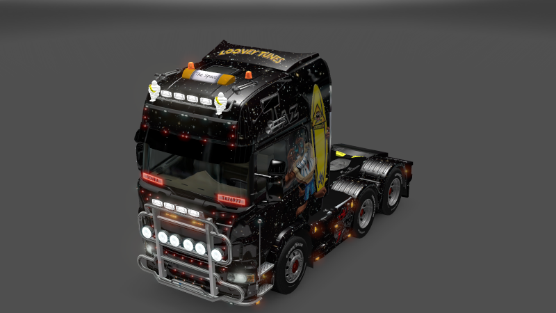 SKIN : Scania Taz Ets2_014