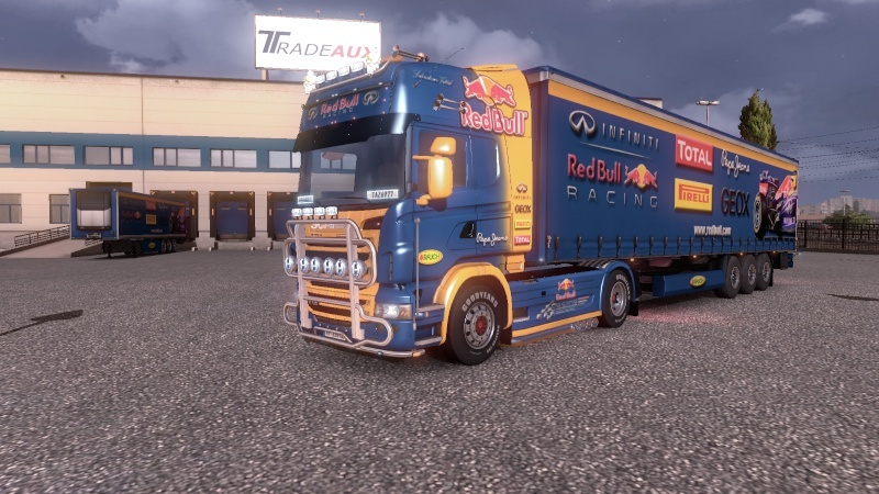 SKIN : Scania Red Bull F1 Team + Remorque Ets2_025
