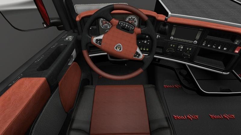 Intérieurs Scania  Intari10