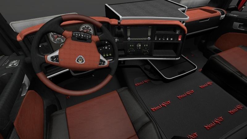Intérieurs Scania  Intari11