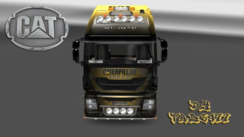 SKIN : Pack CATERPILLAR  Iveco_17