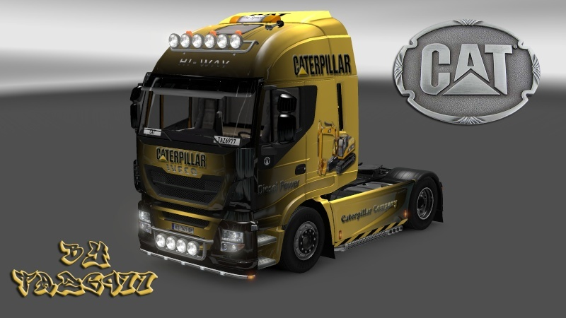 SKIN : Pack CATERPILLAR  Iveco_18