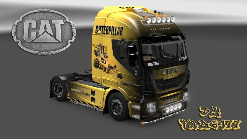 SKIN : Pack CATERPILLAR  Iveco_19