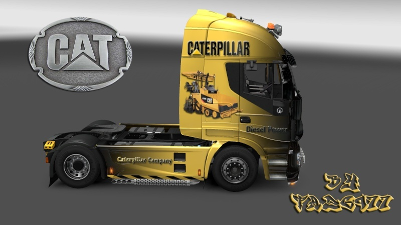 SKIN : Pack CATERPILLAR  Iveco_21