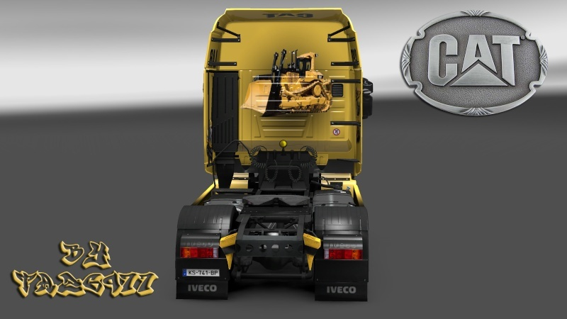 SKIN : Pack CATERPILLAR  Iveco_22