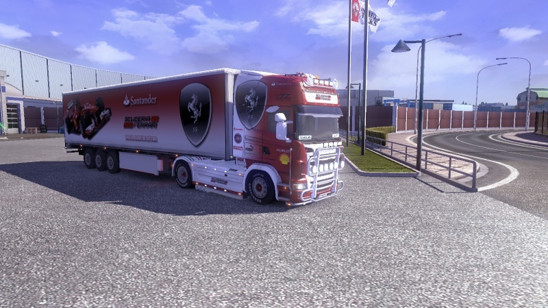 SKIN : Scania Ferrari F1 Team + Remorque Pack_f12