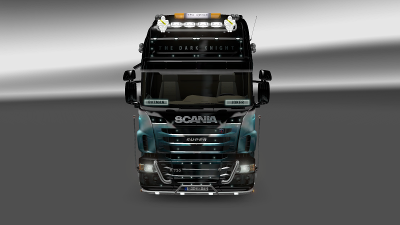 SKIN : Scania The Dark Night Sania_10