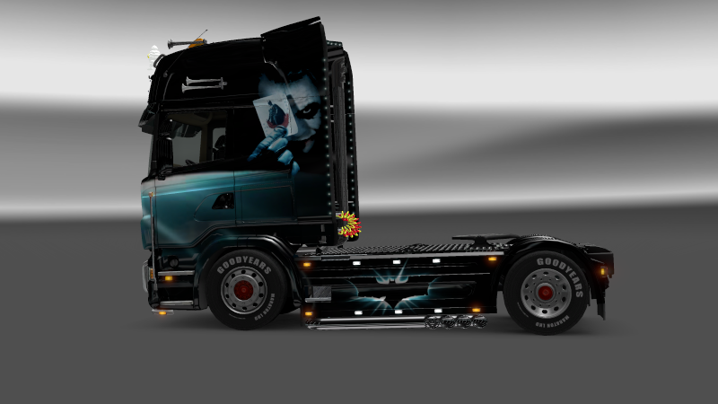 SKIN : Scania The Dark Night Sania_12