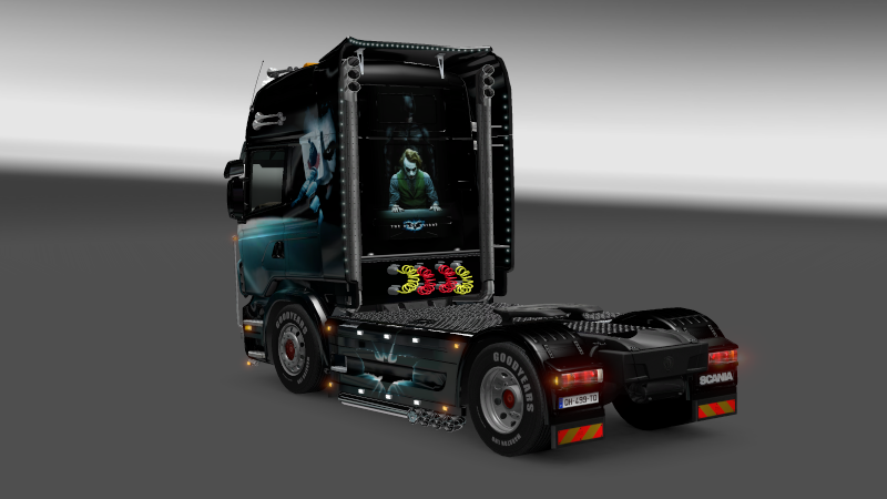 SKIN : Scania The Dark Night Sania_13