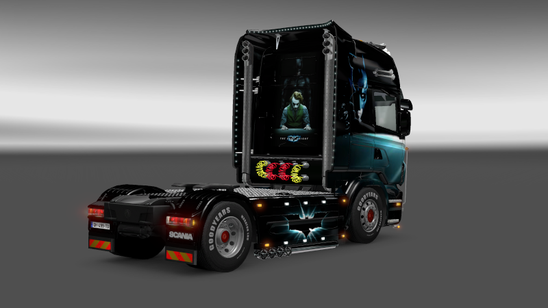 SKIN : Scania The Dark Night Sania_14