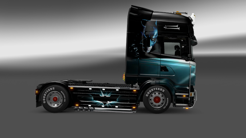 SKIN : Scania The Dark Night Sania_15