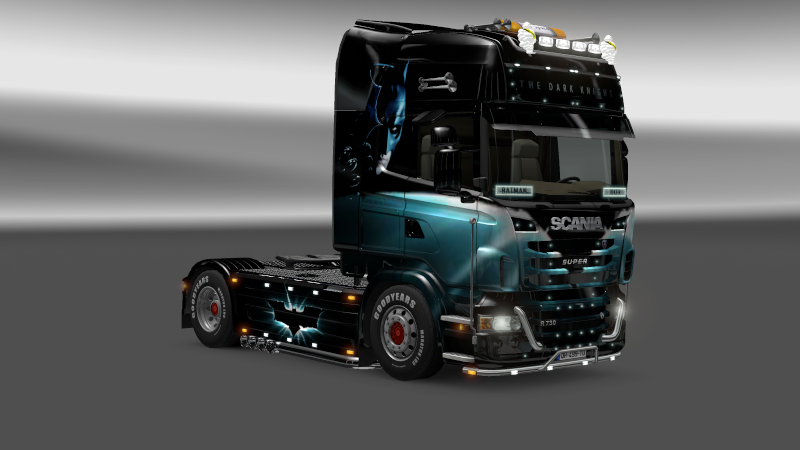 SKIN : Scania The Dark Night Sania_16