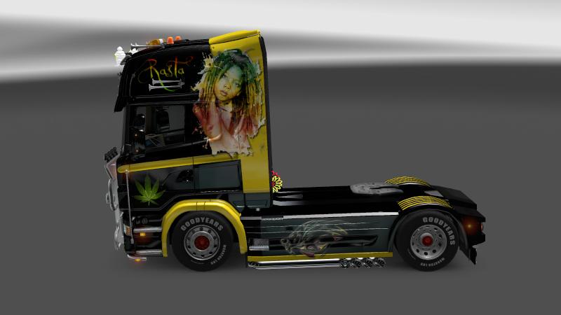 SKIN : Scania Rasta Baby Scania14