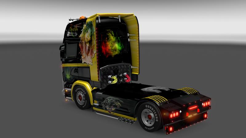 SKIN : Scania Rasta Baby Scania15