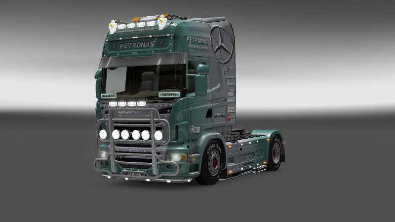 SKIN : Scania Mercedes F1 Team Scania16