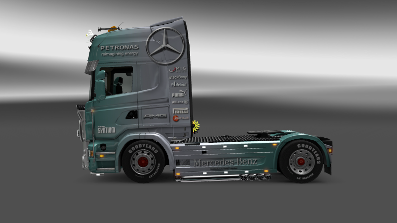 SKIN : Scania Mercedes F1 Team Scania17