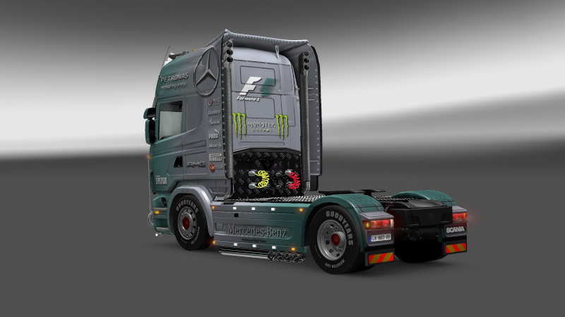 SKIN : Scania Mercedes F1 Team Scania18