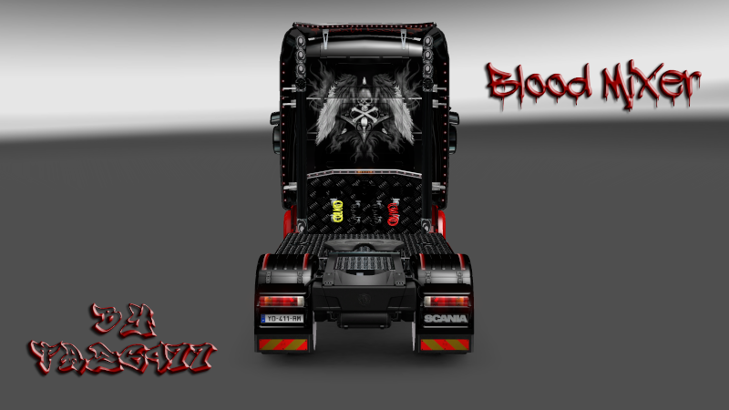 SKIN : Scania Blood Mixer Scania22