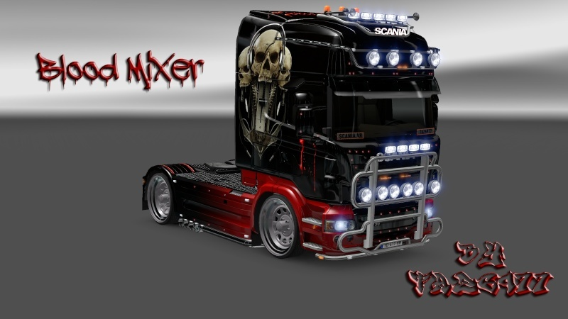 SKIN : Scania Blood Mixer Scania23