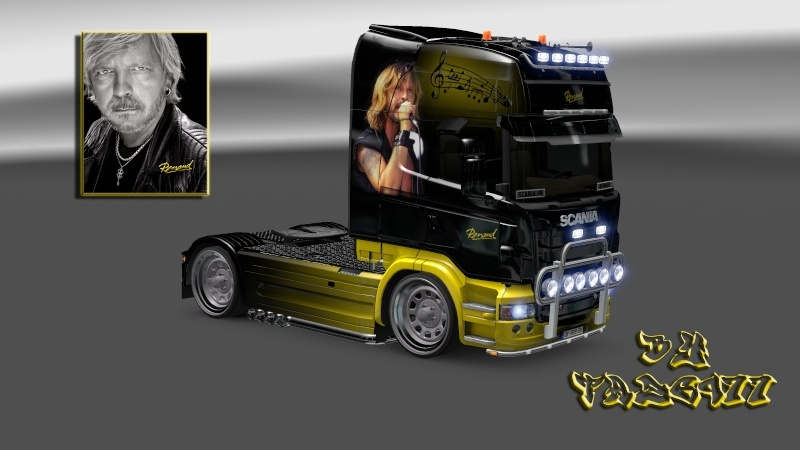 "SKIN : Scania "" Chanteur Renaud "" Scania26"