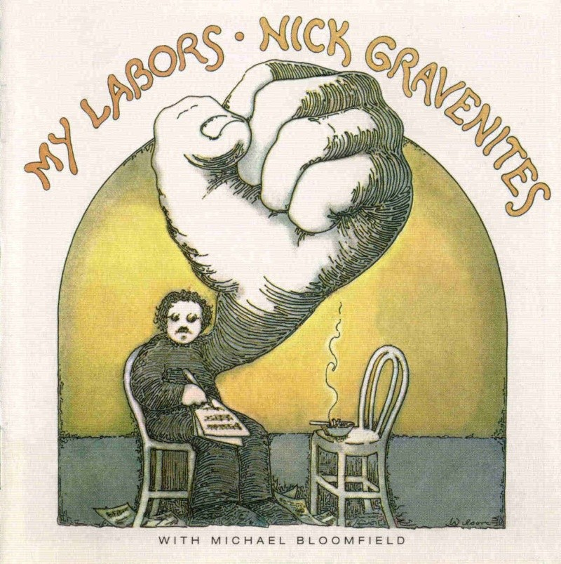 Nick Gravenites with Michael Bloomfield : My Labors (1969) 01fron10