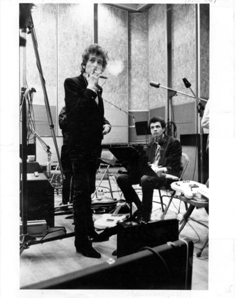 Mike Bloomfield & Bob Dylan 65-06-11