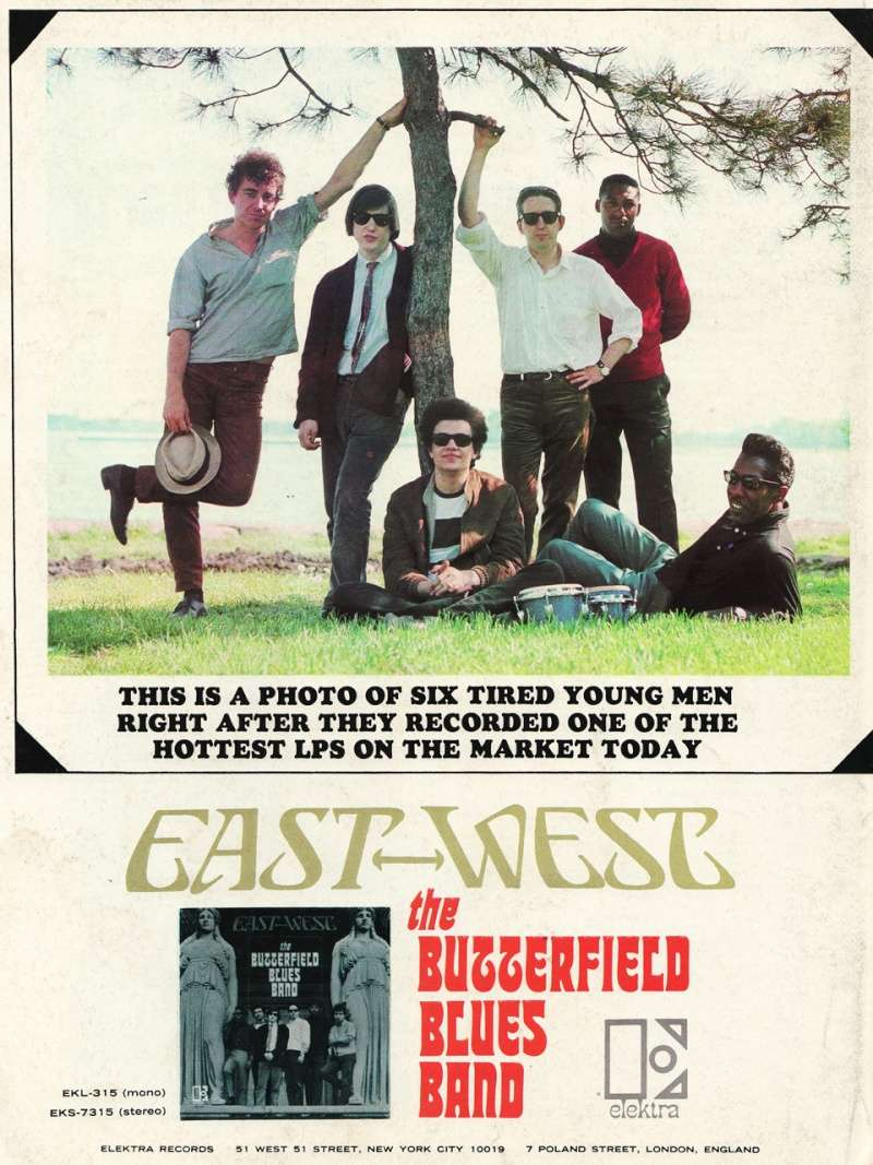 The Butterfield Blues Band : East-West (1966) 67_eas10