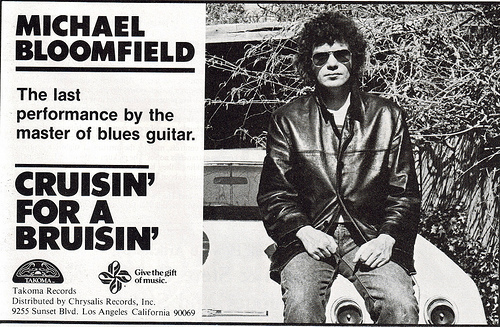 Michael Bloomfield : Between The Hard Place And The Ground/Cruisin' For A Bruisin' (2008) 81_cru10
