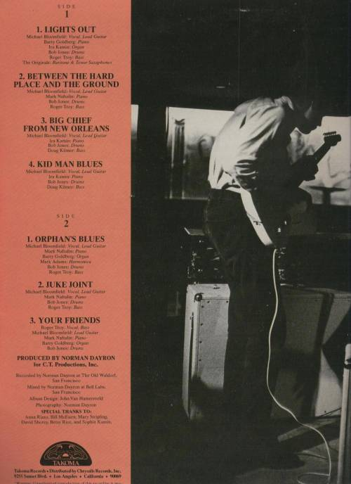 Michael Bloomfield : Between The Hard Place And The Ground/Cruisin' For A Bruisin' (2008) Fbetwe11