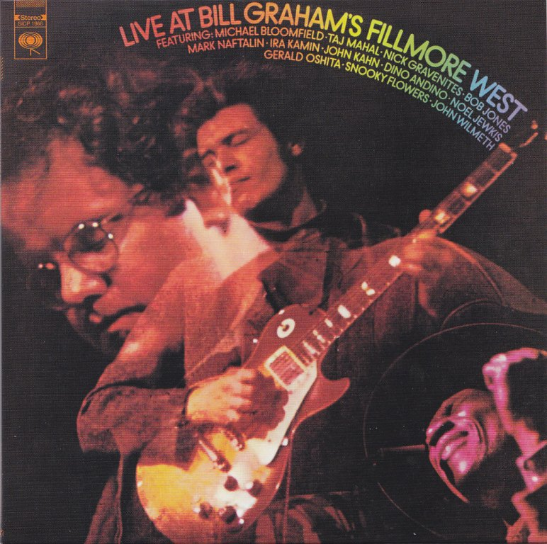 Mike Bloomfield : Live At Bill Graham's Fillmore West (1969) Front10