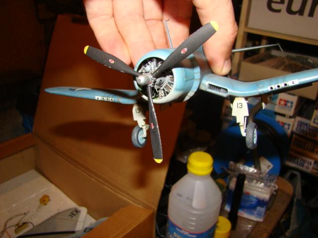 F4U-1 Corsair Ken WALSH, Tamiya 1/48. Dsc05222