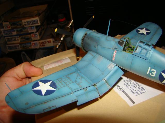 F4U-1 Corsair Ken WALSH, Tamiya 1/48. Dsc05224