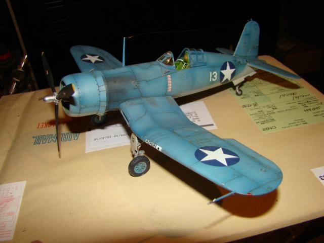 F4U-1 Corsair Ken WALSH, Tamiya 1/48. Dsc05225