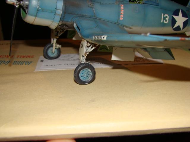 F4U-1 Corsair Ken WALSH, Tamiya 1/48. Dsc05227