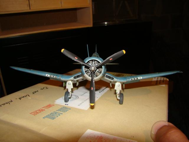 F4U-1 Corsair Ken WALSH, Tamiya 1/48. Dsc05228