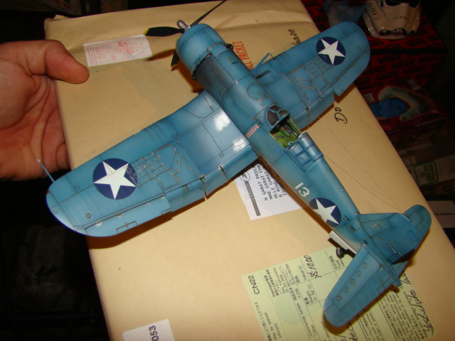F4U-1 Corsair Ken WALSH, Tamiya 1/48. Dsc05229