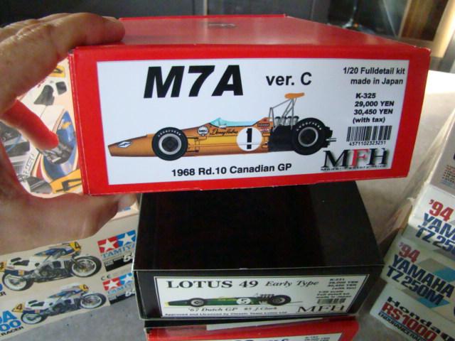 McLaren M7A, Bruce McLaren, 1968. Dsc08218