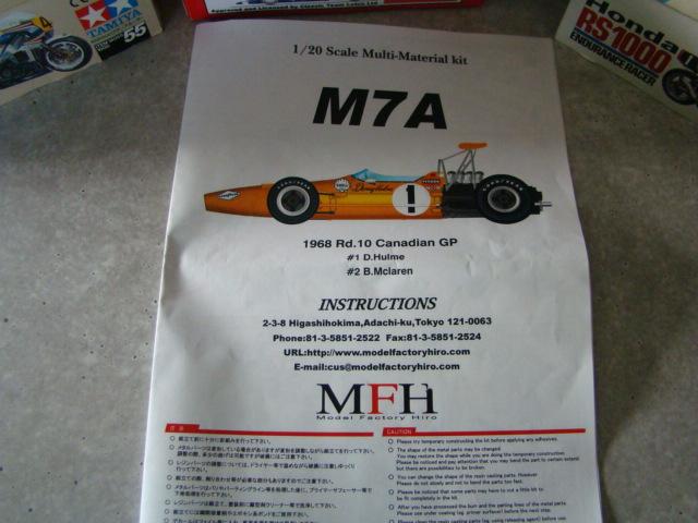 McLaren M7A, Bruce McLaren, 1968. Dsc08228