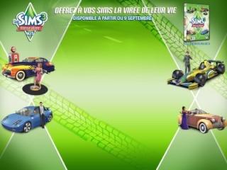 Les Sims™ 3 : Vitesse ultime Kit Fond-s10