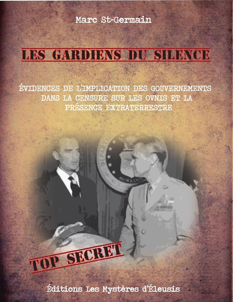 Livre de Marc St-Germain. Titre: Les gardiens du silence 10255110